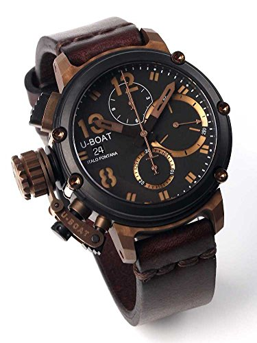 U-Boat Watch Germany Chronograph 43mm Chimera Bronze B B 8015