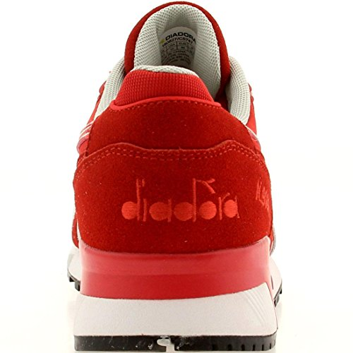 Diadora Women's Trainers Red/Gray 6bW5ugtM