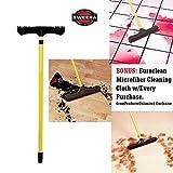 Sweepa Rubber Broom. DUTCH RUBBER BROOM (51'' Pole w/Head-12'')