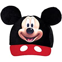 """Amscan DisneyMickey Mouse Birthday Party Mickey's Ear Baseball Hat Accessory, 5 5/8' X 3 1/2"""", Black/Red/White"""
