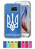 Case for Galaxy S6 - Flag of Ukraine - Personalized Engraving Included
