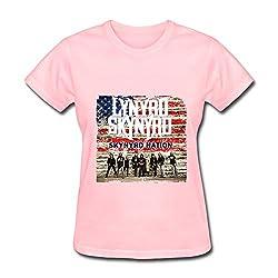 Lynyrd Skynyrd Tour 2016 T Shirt For Women