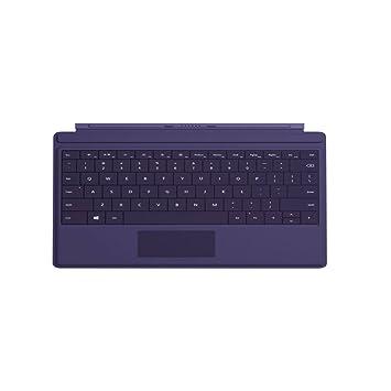 Microsoft Surface 3 Type Cover Cover Port Violeta Teclado para móvil: Amazon.es: Electrónica