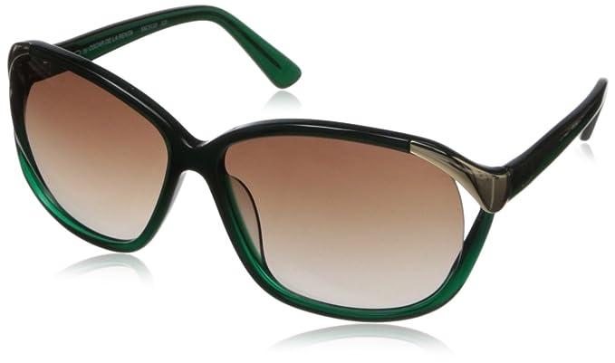 8c7c11f658 Amazon.com  O by Oscar de la Renta Eyewear Women s SSC5110 Oval ...