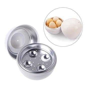LJLGC Cocedor de Huevos,Horno de Microondas Cocina de Huevo ...