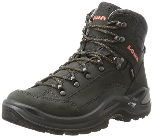 clearance footlocker the cheapest online Lowa Women's Renegate GTX Mi High Rise Hiking Boots Grey (Anthrazit/Mandarine 9709) for nice online LWkGvv2tN3