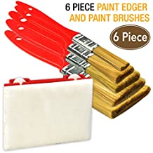 6 Piece Premium,trim paint brush,paint brushes,paintbrushes,paint tools,paint edger,paint tools
