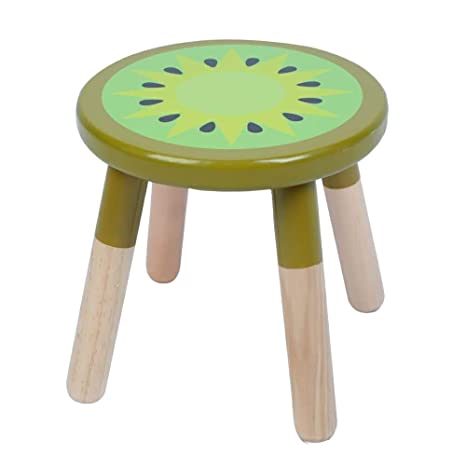 Marvelous Amazon Com Ruyu 9 Inch Kids Solid Hard Wood Fruit Chair Onthecornerstone Fun Painted Chair Ideas Images Onthecornerstoneorg