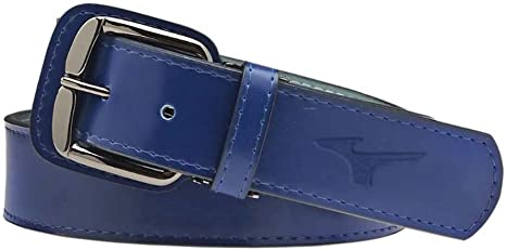 """Mizuno Youth Classic Waist Belt 1.5/"""" Synthetic Leather Black Fits Up To 31/"""""""