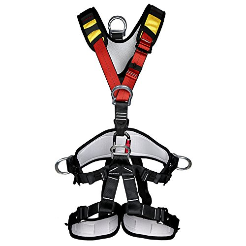 YaeTact Safety Rock Tree Climbing Body Fall Protection Rappelling Harness Equipment Gear by YaeTact