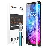 Galaxy S8 Plus Screen Protector, Trianium Soft Skin [2 Pack] [Case Friendly] Samsung Galaxy S8 Plus S8+ Screen Protector Soft Flexible TPU film for Samsung Galaxy S8 Plus S8+ 6.2