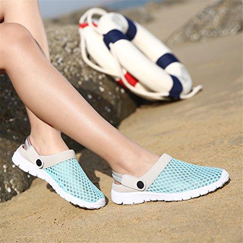 Ahueca Playa Hacia Acoplamiento La Del Sandalias Red Zapatillas Azul Unisex plata De Saguaro® Fuera Respirable Las AzRxq