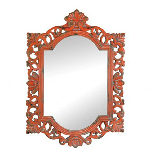 Vintage Emily Coral Mirror by Unbranded*