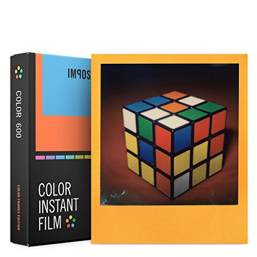 Impossible PRD4522 Polaroid 600 and Instant Lab Film, Color with Color Frames (600 Film Pack)