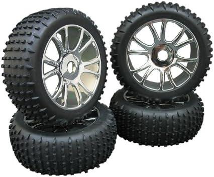 4x Buggy llantas + neumáticos BRF1 1:8 + envío gratis!! Diseño y color elegible!: Amazon.es: Juguetes y juegos