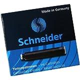 Schneider シュナイダー 万年筆用 インクカートリッジ ブラック 1箱6本入り BS6601