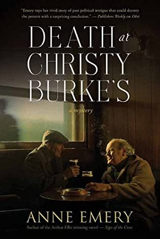 book cover of Death at Christy Burke\'s