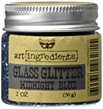 Prima Marketing Finnabair Art Ingredients Glass Glitter, 2 oz, Midnight Blue