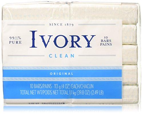Ivory Original Bar Soap - 10 - Soap Ea Bar