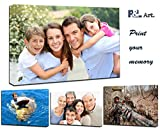 P&L ART. Personalized Photo to Canvas Print Wall Art 12''x12'' (30cmx30cm) Custom Your Photo On Canvas wall art Digitally Printed
