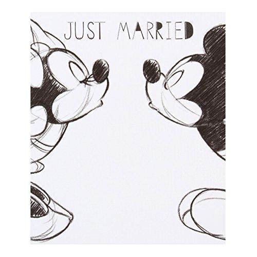 Hallmark Disney Karte Design Micky Und Minnie In Englischer Sprache Mickey Minnie Hochzeit Weiss