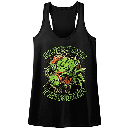 American Classics Street Fighter Video Martial Art Arcade Game Electric Thunder Womens Tank Top T