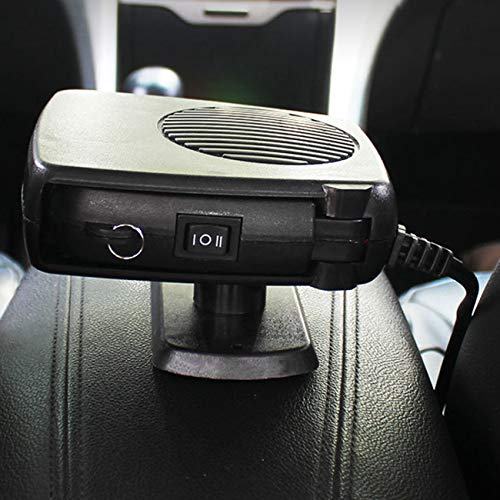 Fannty Car Heater Windshield Defroster Car Electric Heater Wind Car Heater Warmer: