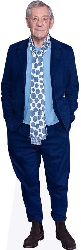 Blue Suit Life Size Cutout Ian McKellen