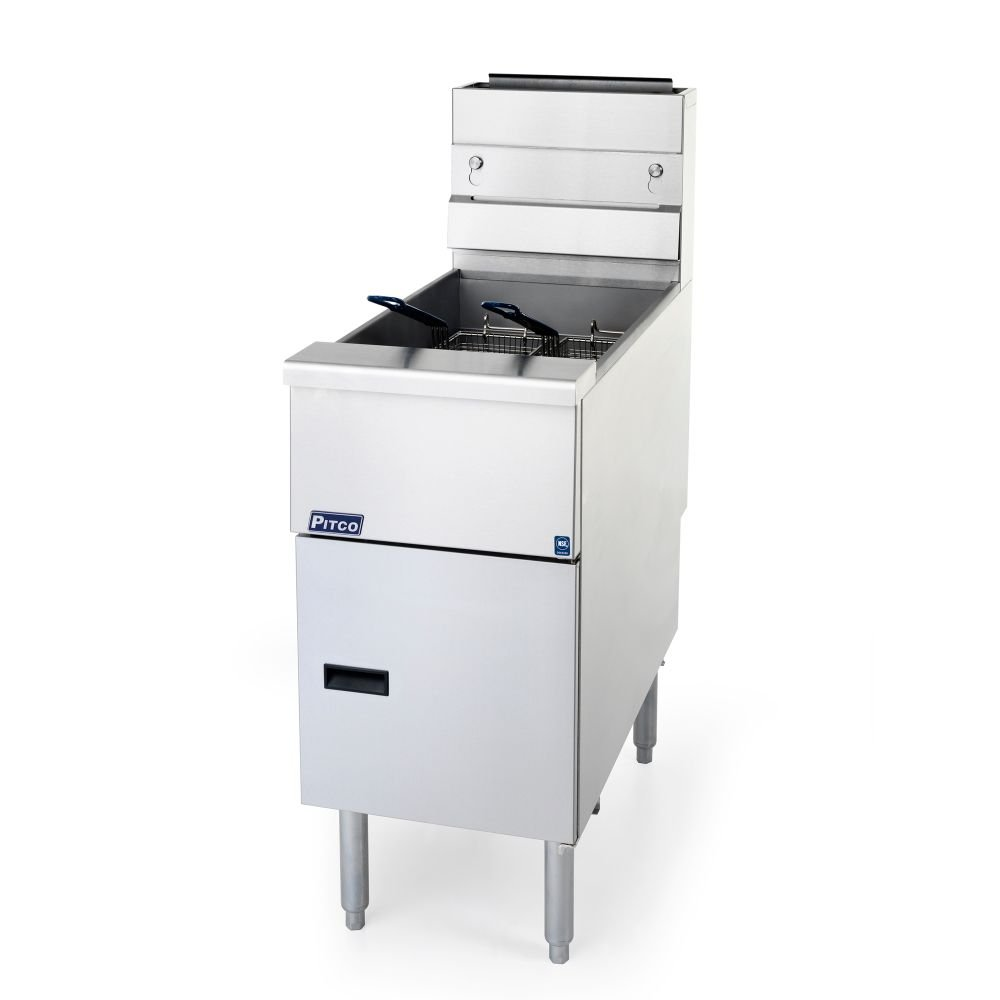 Pitco SG14RS Solstice 40-50 Lb Cap. Natural Gas Fryer