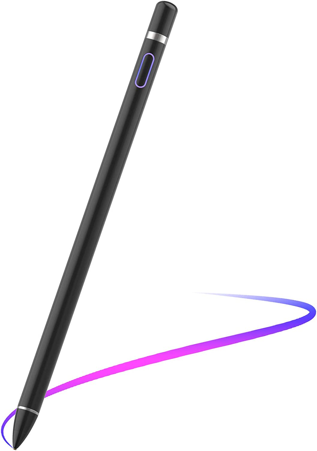 Stylus Pen for Touch Screens, Digital Pencil Active Pens Fine Point Stylist Compatible with iPhone iPad Pro Air Mini and Other Tablets
