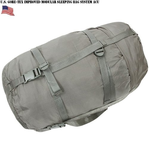 iage Green ACU Gray Sleeping Bag COMPRESSION SACK Bag LARGE by Tennier Industries NSN 8465-01-547-2757 ()