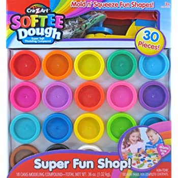 Amazon Com Cra Z Art Super Rainbow Softee Dough Color