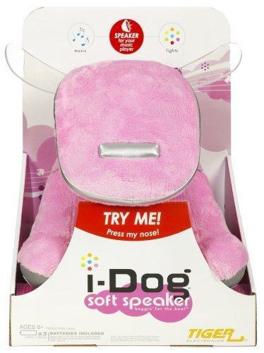 i-Dog Soft Speaker Pink by iDog