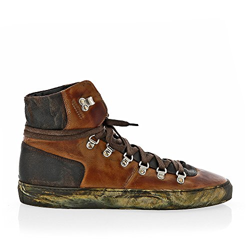 The Original Shoes Brown Lace Up High Top Sneaker by The Original Shoes (Image #1)