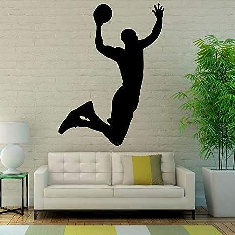 Populares Deportes Pegatinas de Pared Arte de Baloncesto ...