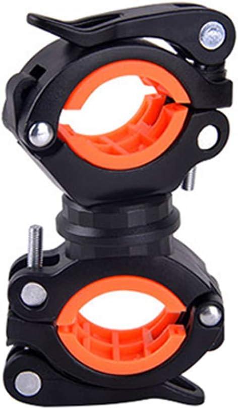 Liudan - Soporte de luz Intermitente Ajustable para Bicicletas, Accesorios para Bicicleta de montaña: Amazon.es: Hogar