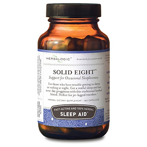Solid Eight Sleep Support Capsules, 90 ct (500 mg)