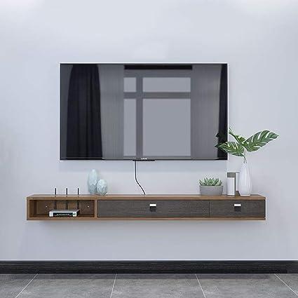 Mobile Tv A Parete Mensola A Muro Mensola Galleggiante Tv Sfondo