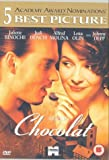 Chocolat - nominated for 5 academy awards