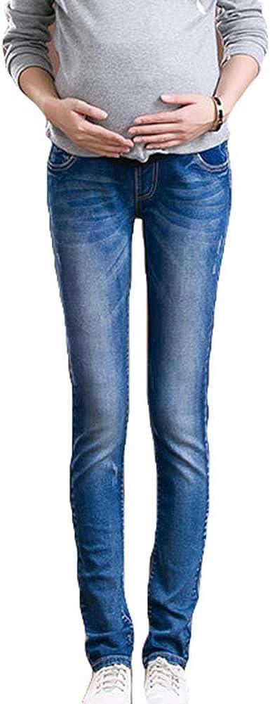 2018 Maternity Jeans Pants Trousers Over Bump Skinny Slim Fit Pregnant Leggings