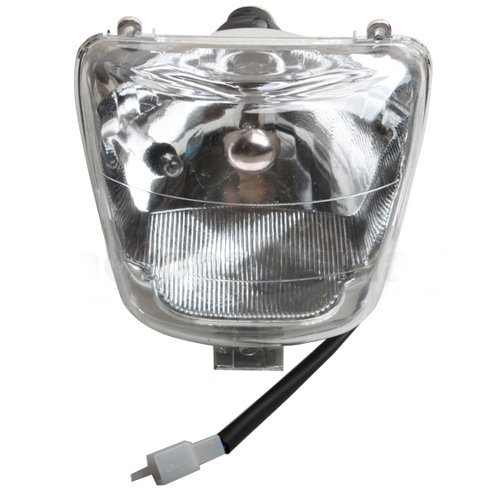 Headlight Head Light Lamp Assembly for 50 cc 70cc 90 CC 110cc 125 cc ATVs Quad 4 Wheeler Taotao SunL Coolster (Coolster Quad compare prices)