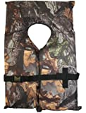 Hardcore Water Sports Type II Camo Hunting Life Jacket Vest PFD Adult Universal Coast Guard Approved