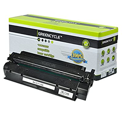 GREENCYCLE C7115X Laserjet Toner Cartridge 15X Replacement For HP LaserJet 1000 1200 1220 3300 3310 3320 3330 3380 Series Printer