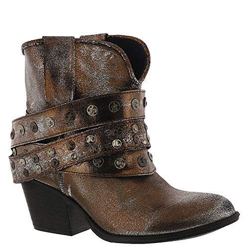 Very Volatile Cowboy Women's Boot 8.5 B(M) US Pewter