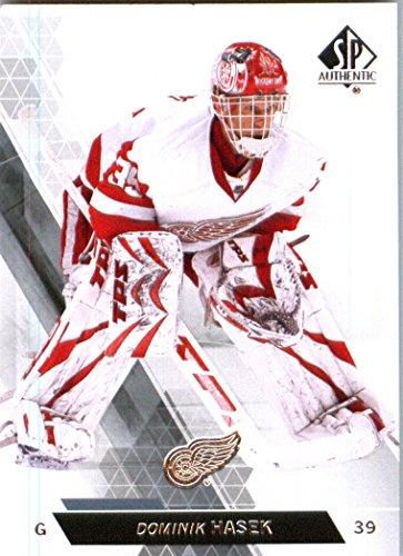2014 Upper Deck SP Authentic Hockey Card (2013-14) #47 Dominik Hasek - Detroit Red Wings MINT