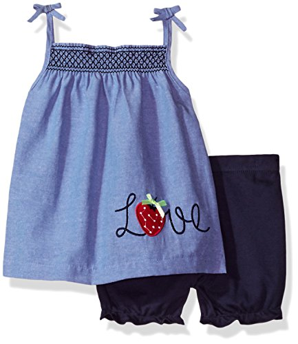 bon-bebe-baby-girls-2-piece-dress-set-with-diaper-cover-love-blue-chambray-24-months
