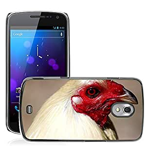 Super Stella Slim PC Hard Case Cover Skin Armor Shell Protection // M00149065 Rooster Head Poultry Bird Chicken // Samsung Galaxy Nexus GT-i9250 i9250
