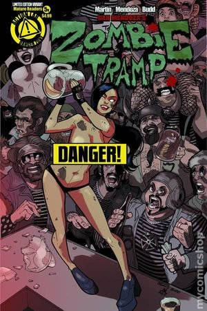 Download Zombie Tramp #5 (Risque Variant) pdf epub