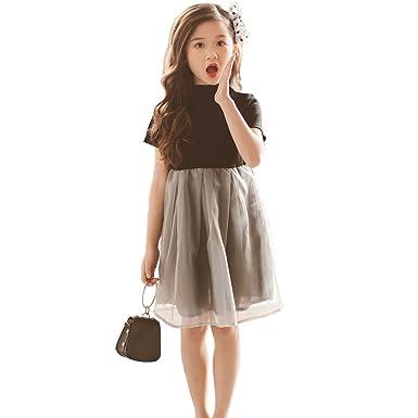 6d747ecd63ec3 女の子 子供ドレス 洋服 舞台衣装 韓国風 半袖 膝丈 フォーマル ワンピース 女の子 演奏会