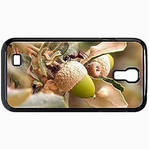 Fashion Unique Design Protective Cellphone Back Cover Case For Samsung GalaxyS4 Case Ant Black